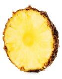 Ломтик ананаса изолированный на белизне Стоковая Фотография RF