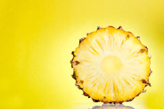 ломтик ананаса Стоковое Фото