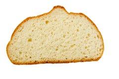 Ломтик белого хлеба хлебца Стоковые Изображения