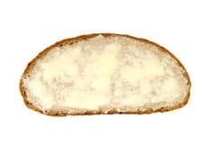 ломтик масла хлеба Стоковые Фото