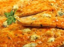 ломтик пиццы сыра Стоковые Изображения RF