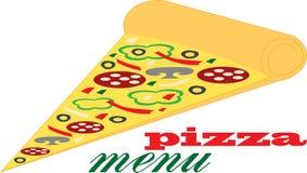 Ломтик пиццы Стоковая Фотография RF