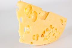Ломтик сыра Стоковая Фотография