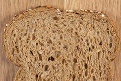 ломтик хлеба коричневый Стоковые Изображения