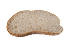 ломтик хлеба одиночный Стоковое Фото
