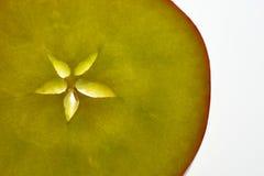 ломтик яблока Стоковое Изображение