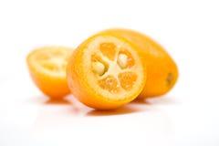 ломтик kumquat Стоковая Фотография