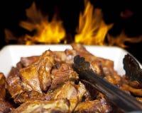 Ломти мяса Стоковые Фото