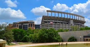 Лонгхорны Техасского университета стадиона Darrell k королевские Техаса мемориальные Стоковая Фотография RF