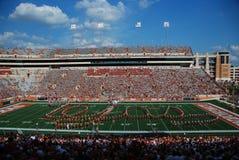 лонгхорны texas футбольной игры коллежа стоковое фото