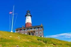 Лонг-Айленд Нью-Йорк маяка пункта Montauk стоковое фото rf
