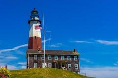 Лонг-Айленд Нью-Йорк маяка пункта Montauk стоковые изображения