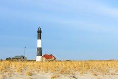 Лонг-Айленд NY маяка острова огня стоковое изображение