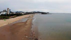 Лонг-Бич летом солнечен и ветрен стоковое изображение