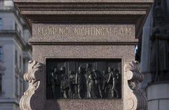 Лондон, Большой Лондон, Великобритания, 7-ое февраля 2019, статуя к Флоренс Найтингейл стоковые фото