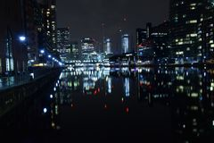 Лондон Великобритания 02/12/2017 Город руководителей банка Европы Стоковое Изображение RF