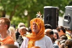 24/06/2018 Лондон Великобритания Красочная прогулка на дороге в солнечном дне Стоковые Изображения