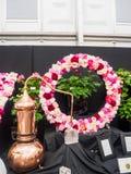 ЛОНДОН, ВЕЛИКОБРИТАНИЯ - 25-ОЕ МАЯ 2017: Выставка цветов 2017 RHS Челси Стоковое Фото