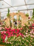 ЛОНДОН, ВЕЛИКОБРИТАНИЯ - 25-ОЕ МАЯ 2017: Выставка цветов 2017 RHS Челси Стоковая Фотография RF