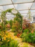 ЛОНДОН, ВЕЛИКОБРИТАНИЯ - 25-ОЕ МАЯ 2017: Выставка цветов 2017 RHS Челси Стоковая Фотография