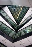Лондон, Великобритания - сентябрь 2017: взгляд корнишона строя в течение дня Стоковые Фотографии RF