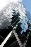 Лондон, Великобритания - сентябрь 2017: взгляд корнишона строя в течение дня Стоковая Фотография RF