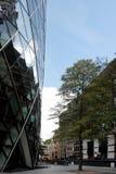 Лондон, Великобритания - сентябрь 2017: взгляд корнишона строя в течение дня Стоковое Фото