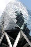 Лондон, Великобритания - сентябрь 2017: взгляд корнишона строя в течение дня Стоковое Изображение