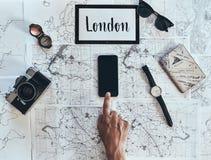 Лондон новое назначение стоковая фотография rf