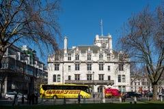 ЛОНДОН - 13-ОЕ МАРТА: Верховный Суд Великобритании в Лондоне Стоковое Изображение RF