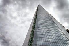 ЛОНДОН - 24-ОЕ СЕНТЯБРЯ 2016: Верхний взгляд здания черепка Оно I стоковое фото