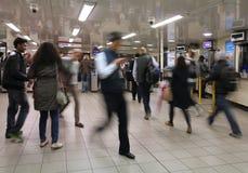 Лондон подземное Стоковое Изображение