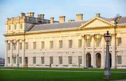 ЛОНДОН, старые королевские офисы в Grinwich стоковое фото