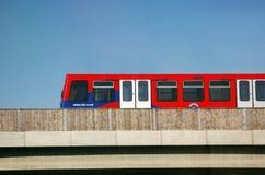 Лондон DLR Стоковые Фото