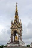 Лондон, Англия - 18-ое июня 2016: Мемориал принца Альберта, Лондон Стоковое Фото