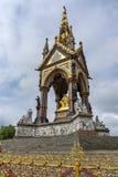 Лондон, Англия - 18-ое июня 2016: Мемориал принца Альберта, Лондон Стоковое Изображение RF