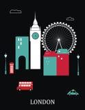 Лондон Англия. иллюстрация штока