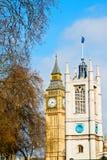 Лондон большой ben и старая конструкция Англия постарел город Стоковые Изображения