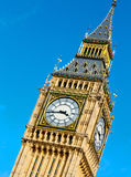 Лондон большой ben и vvvhistorical старый город Англии конструкции Стоковое Изображение