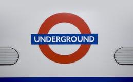 Лондон, 11,2015 -го май, Лондон подземный Стоковые Фото