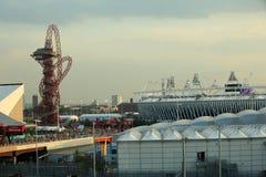 Лондон - день Олимпиад 2012 Стоковые Изображения RF