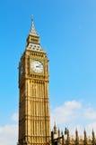 Лондон и историческая старая конструкция Англия постарели город Стоковое Фото