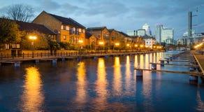Лондон, остров собак Стоковые Изображения