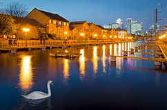 Лондон, остров собак Стоковое Фото