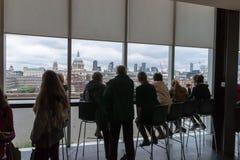 Лондон от Tate современного Стоковые Фото
