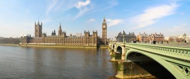 Лондон панорамный Стоковое Фото