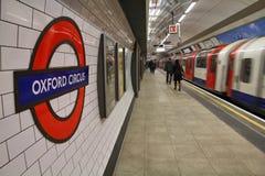 Лондон подземный Стоковая Фотография