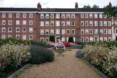 Лондон: Сады h камер гостиницы серого цвета законные Стоковые Фотографии RF