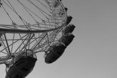 Лондон черно-белый Стоковые Изображения