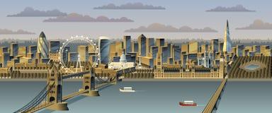 Лондон иллюстрация вектора